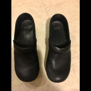 Dansko men's clogs mules Black